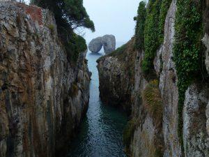 Vista de la costa de Asturias