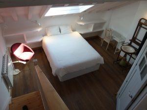 Habitación familiar en Picos de Europa, cama doble grande
