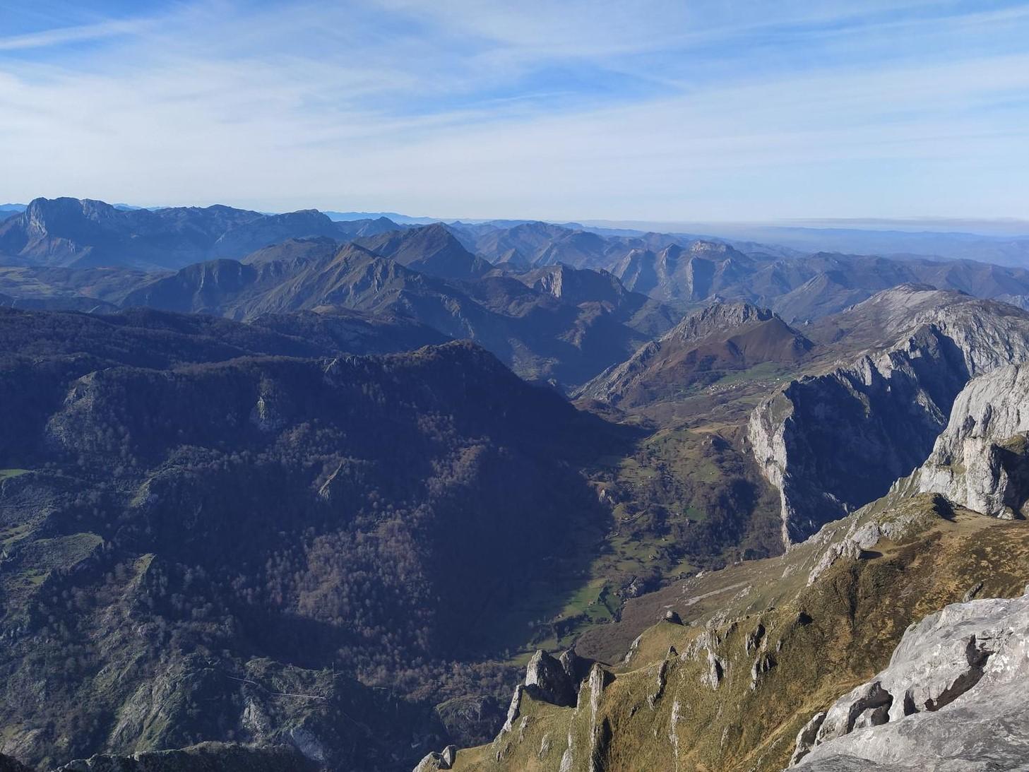 Vista desde el Mirador de Ordiales